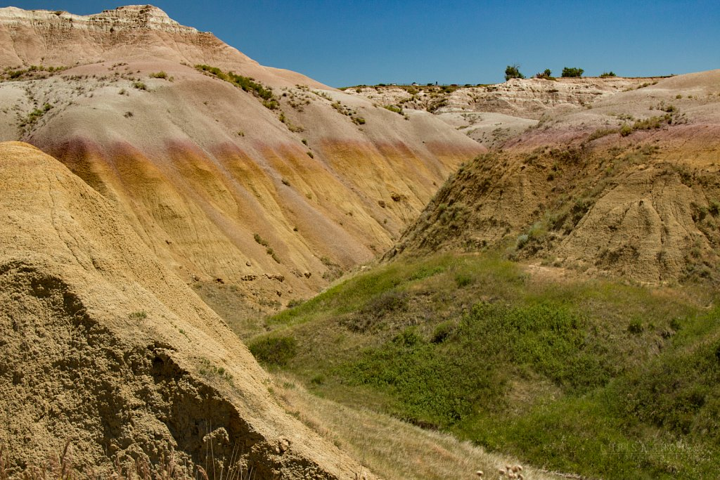Yellow Mounds - Badlands National Park